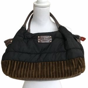 Kate Spade puffer and leather bag.  GUC